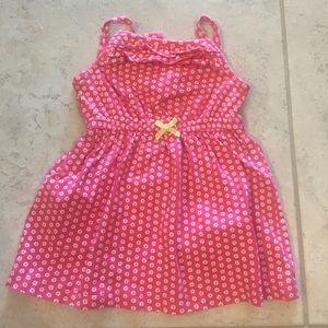 Pink carter's dress